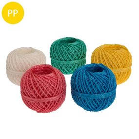 Bindfaden, Einzelpack, Polypropylen, 1,5 mm, 1 Knäuel, 40 m