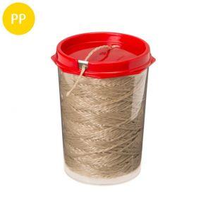 Bindfaden, 2-fach gedreht, PP-Spinnfaser, 1,3 mm, 1 St