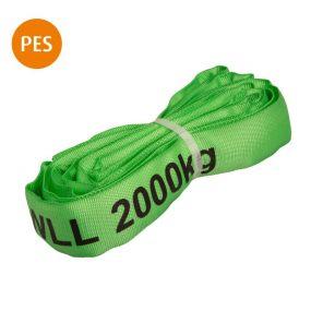 Rundschlinge, 1 m, grün, Polyester, 2 t, 1 St