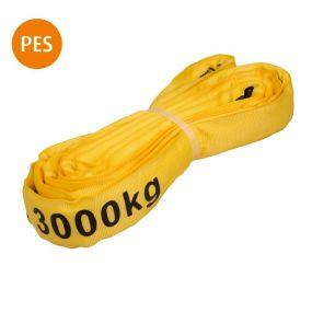 Rundschlinge, 2 m, gelb, Polyester, 3 t, 1 St