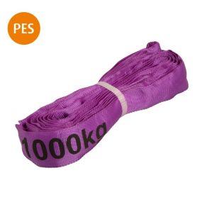 Rundschlinge, 1,5 m, violett, Polyester, 1 t, 1 St