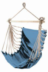 Fashion Aqua, mit stabilem Tragstab an Aufhängeseil mit Öse, blau, Baumwolle, 1 St
