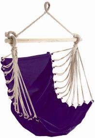 Fashion Violett, mit stabilem Tragstab an Aufhängeseil mit Öse, violett, Baumwolle, 1 St