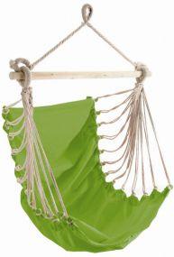 Fashion Green, mit stabilem Tragstab an Aufhängeseil mit Öse, grün, Baumwolle, 1 St