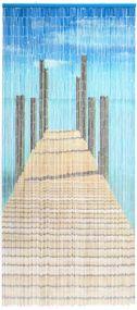 Bridge, 90 Stränge, Bambusstäbchen, handbemalt
