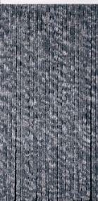 Flauschi, 24 Stränge, silbergrau, flauschige Stränge aus künstlicher Chenille