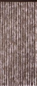 Flauschi, 21 Stränge, dunkelbraun, flauschige Stränge aus künstlicher Chenille