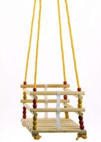 Gitterschaukel, Seile längenverstellbar bis 170 cm, mit verzinkter Aufhängung