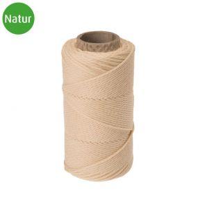 Bindfaden, Naturfaser, Baumwolle, 1,3 mm, 1 St
