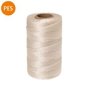 Maurerschnur, Polyester, 1,5 mm, 100 m, weiß, 1 St