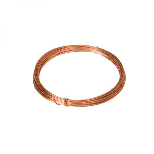 Kupferdraht, Draht, Kupfer, 0,6 mm, 1 St | Drähte | Bindfäden ...