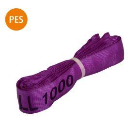 Rundschlinge, 1 m, violett, Polyester, 1 t, 1 St