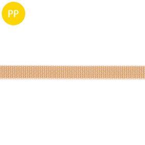 Rollladen-Gurt, Polypropylen, multifil, 15 mm, beige, 1 m, 50 m
